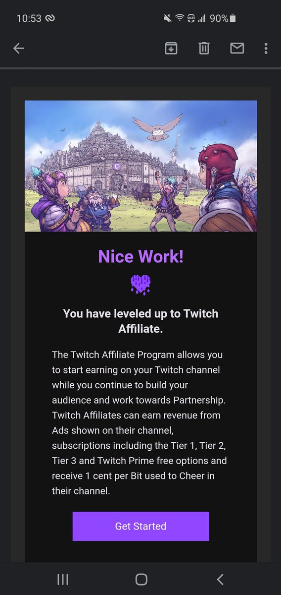 Join me today for my first affiliate stream today at 2pm!!!! Thank you to everyone who has supported me, I could not do this without you!! #twitch #SmallStreamersConnect #smallstreamer #twitchstreamer #TwitchAffilate #hardworkpaysoff #Hustler4Life