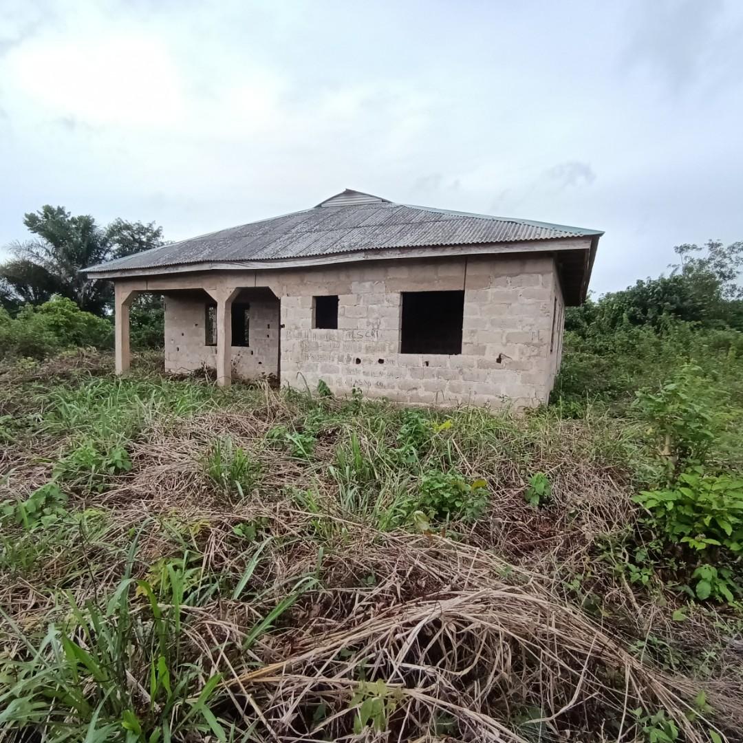 3 Bedroom Bungalow with roofing completed At Imota Ikorodu Lagos. See more details  #whatproperty #ikorodu #Lagos #Nigeria #forsale