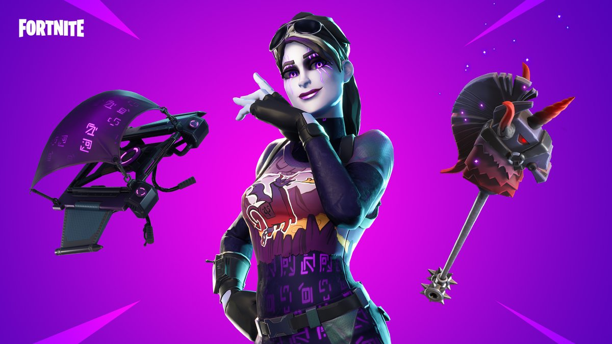 Renewed with darkness and on the path to victory.   Grab the Dark Bomber Outfit now!