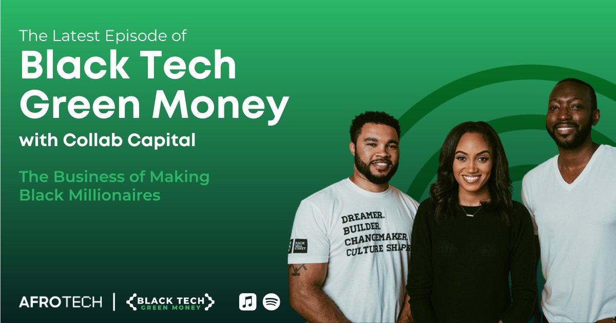 Managing Partners of @collab_capital @jdawkinsatl, @jewelmelanie & @DreamMaven are the latest guests on the @BTGMPodcast 🙌🏾 ⠀ The trio chopped it up with @will_lucas about using contractors to build your startup and so much more! 👀 ⠀ 🎙 Listen now: