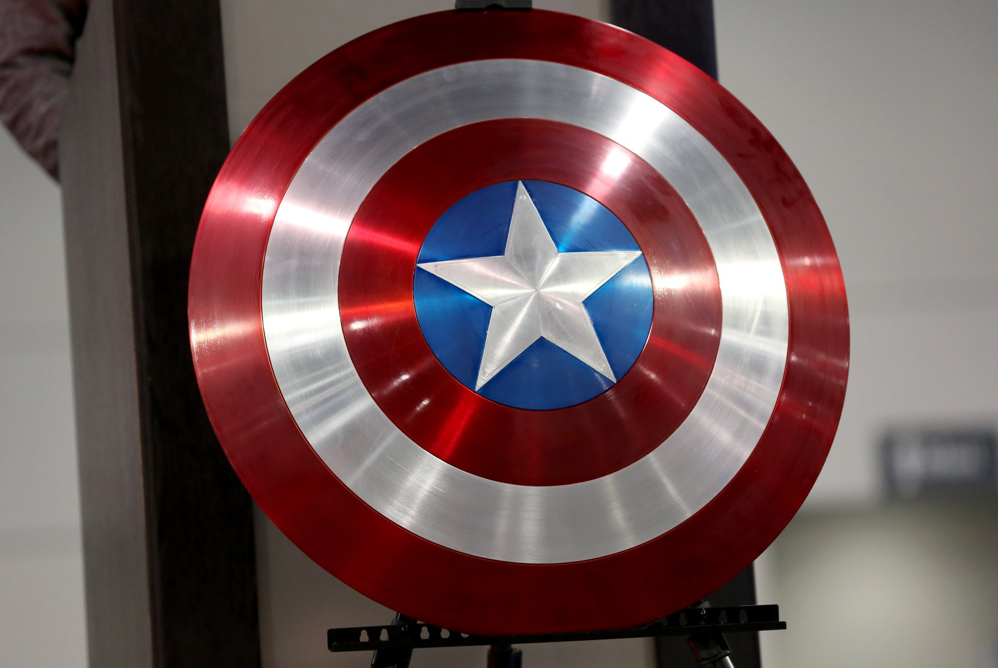 Captain America creator's son hits out at Capitol mobs use of superhero imagery Photo