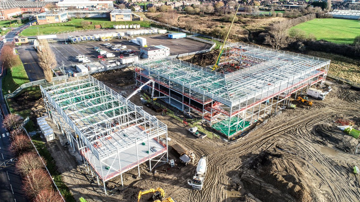 Building site update! Check out the progress we're making on our NEW #Leeds school site 🏗️ We can't wait to open our doors to our founding cohort in September 2021 ✨   #September #NewSchool #BuildingSite #Year7