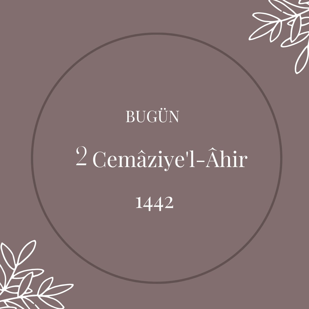 RT @hicri_takvim: #HicriTakvim #Cemaziyelahir #Hicri1442 https://t.co/1y3cQaMm7j https://t.co/mh3OcAQcWC