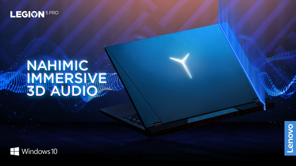 Hear every footstep with a dramatically improved in game audio experience powered by @nahimic immersive 3D sound for gamers.  Powered by @windows 10, the most popular and versatile gaming platform on the planet.