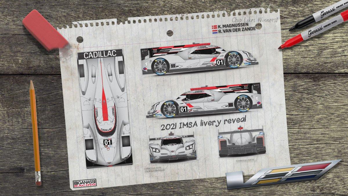 Replying to @CGRTeams: Introducing our DPi class @Cadillac for the 2021 @IMSA season! 🖊️   #IMSA | #TeamGanassi