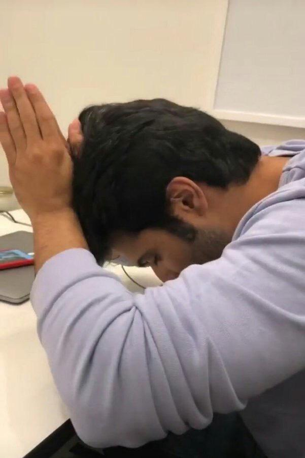 varun dhawan has to go to gym also. varun dhawan has to get spotted at director's office also. varun dhawan has to post random stories about clarification also. but varun dhawan cannot clarify if he is getting married this month or not