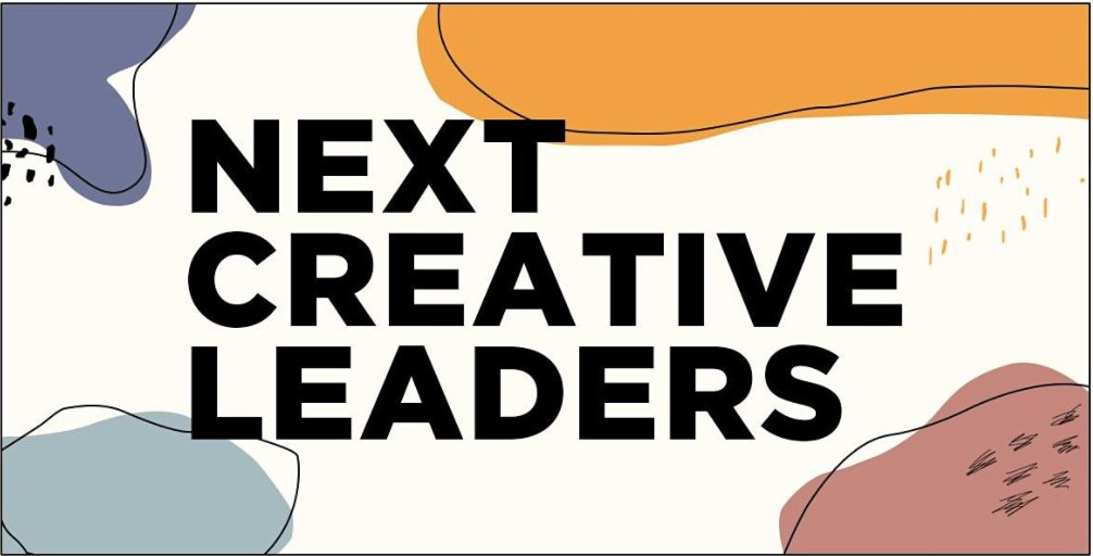 Be sure to join Creative Director Lauren Ferreira alongside this year's talented @TheOneClub #NextCreativeLeaders today at 4pm ET as they discuss the future of creativity.