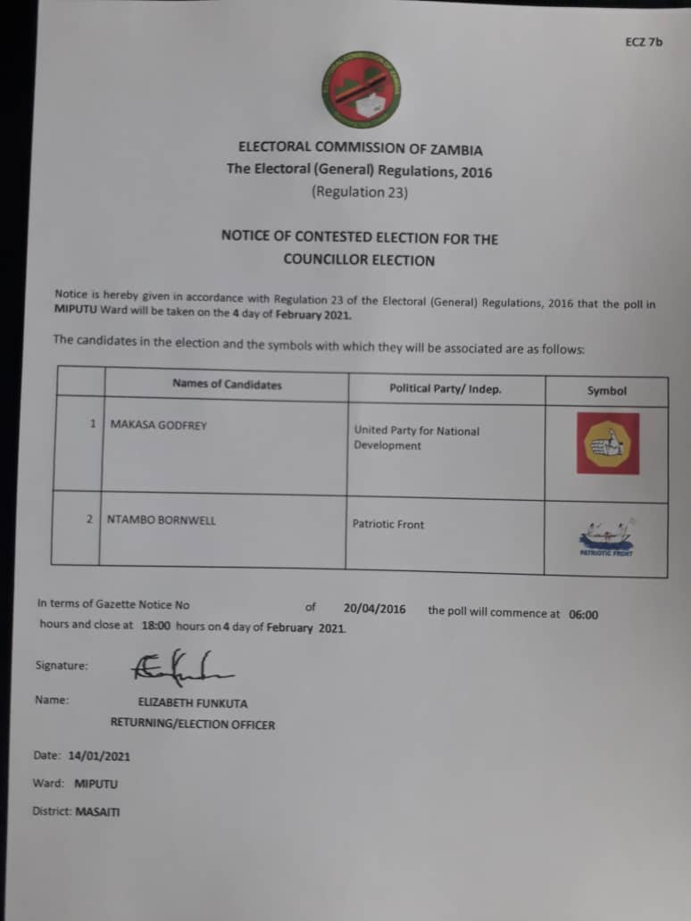 ZambiaElections photo