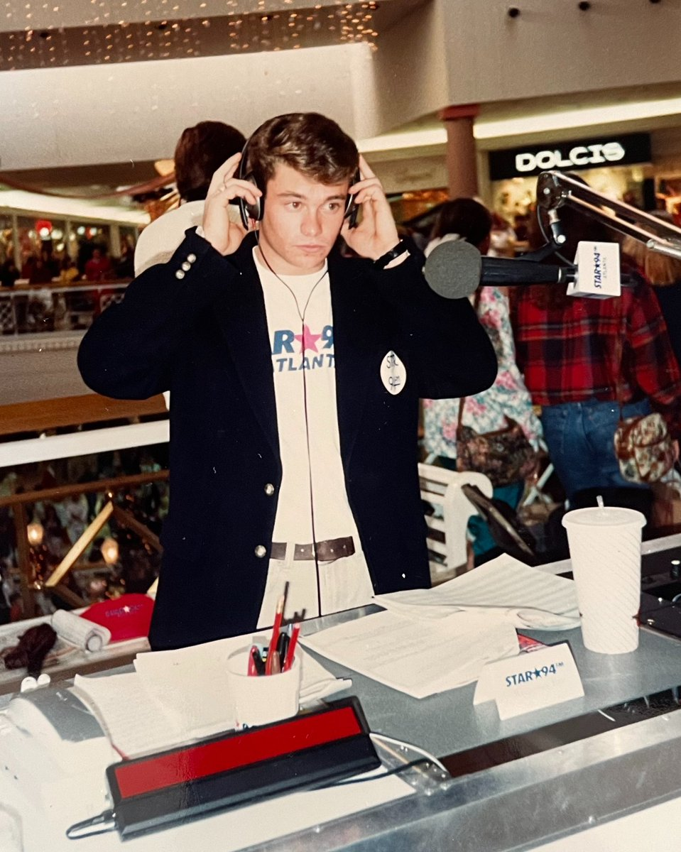 Back when I headlined malls #tbt