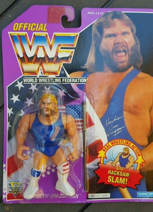 "Happy birthday to American professional wrestler ""Hacksaw\"" Jim Duggan, born January 14, 1954."