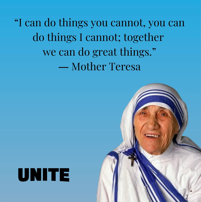 Truer words were never spoken <3 #answeringthecall #inspirationalquote #everydayinspiration #motherteresa