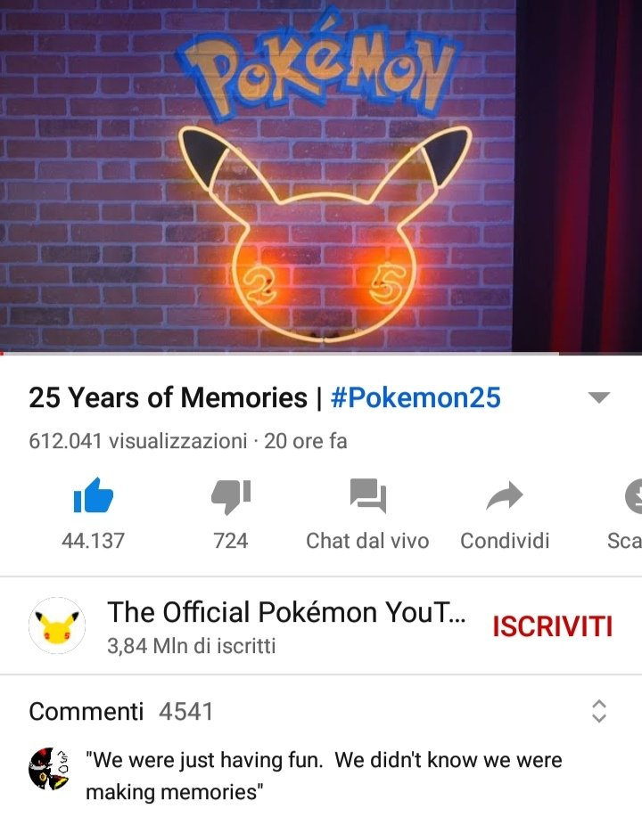 Can you feel that happiness about being a @Pokemon fan that #Pokemon25thAnniversary is giving us all?  That mixed feeling of nostalgia and desire to never stop?  THAT is POKÉMON!  NOT that outrageous amount of hate from toxic complaining people!   POKÉMON IS LOVE!❤️⚡ #Pokemon25