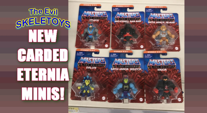Could the rumours be true? They are! A second all-new #EvilSkeletoys just went live for this week! Carded #MastersOfTheUniverse #EterniaMinis! Who knew such a thing existed? Not I! @Mattel @MastersOfficial   #MOTU #ToyCollecting #Toys #HeMan #Skeletor