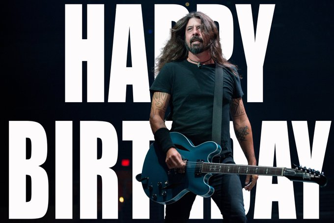 Happy Birthday, Dave Grohl     :