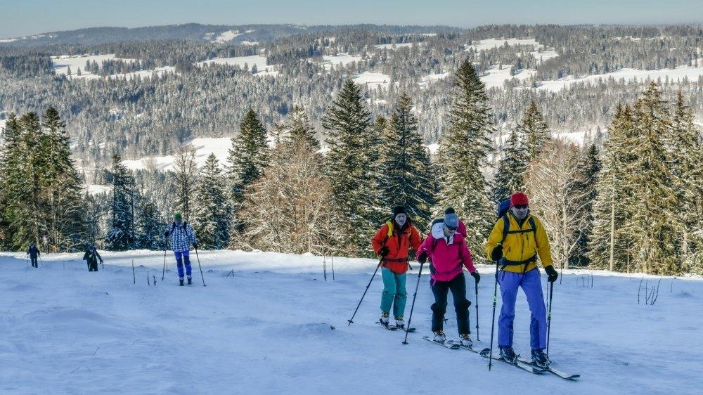 Trois parcours de randonnée à ski créés à la Robella
