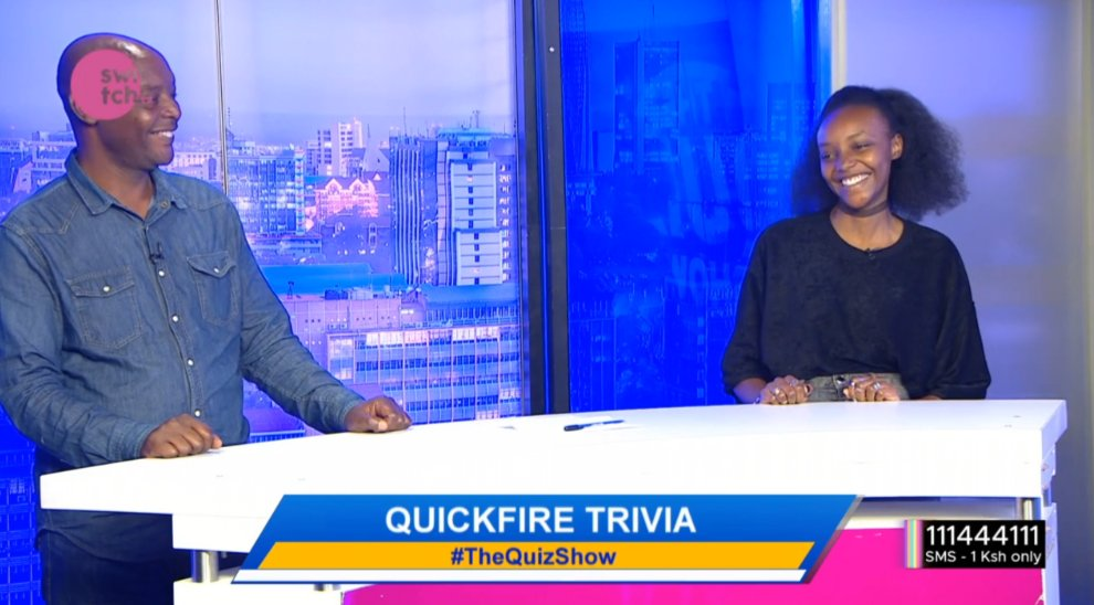 We have a father and daughter team on #TheQuizShow with @freddiebudaboss tonight! Will they win? #thursdayvibes