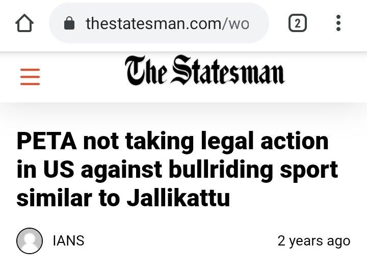 @TimesNow @RahulGandhi @thenewshour .@INCIndia @RahulGandhi & @PetaIndia has a double standards on #jallikatu  They have issues with #Hinduism They always try to abuse #Hindu & #Hinduism with #Propaganda @jsaideepak @ShefVaidya @rvaidya2000 @ARanganathan72  @HMOIndia @BJP4India @ANI @vijai63