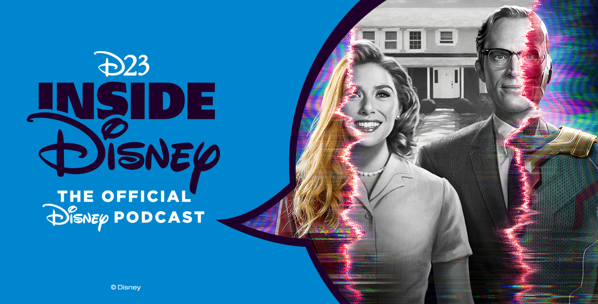 NEW: #WandaVision's @Paul_Bettany reveals everything (he can) about Marvel's epic, new #DisneyPlus series:  Spotify:  Apple Podcasts:  #D23InsideDisney