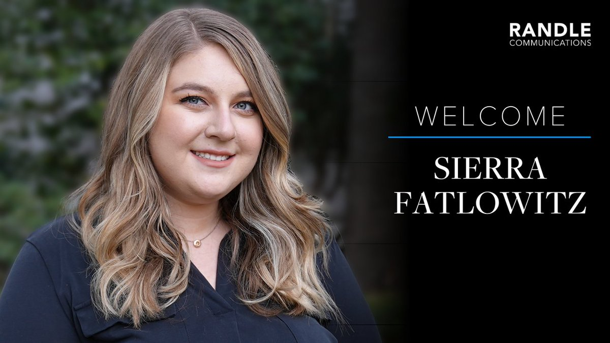 We are excited to welcome Sierra Fatlowitz, our new account executive, to Team Randle! Sierra's policy and political knowledge, along with her expertise in strategic digital communications, offer a great complement to our exceptional team.