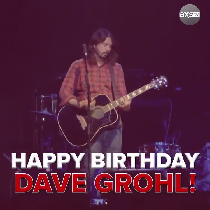 Happy birthday to the superstar of not one, but two incredible bands, Dave Grohl!  Now we have a very important question... Foo Fighters or Nirvana?