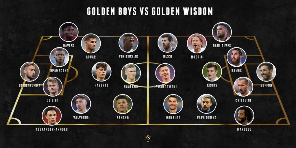 GOLDEN BOYS v GOLDEN WISDOM 👉 Who wins?