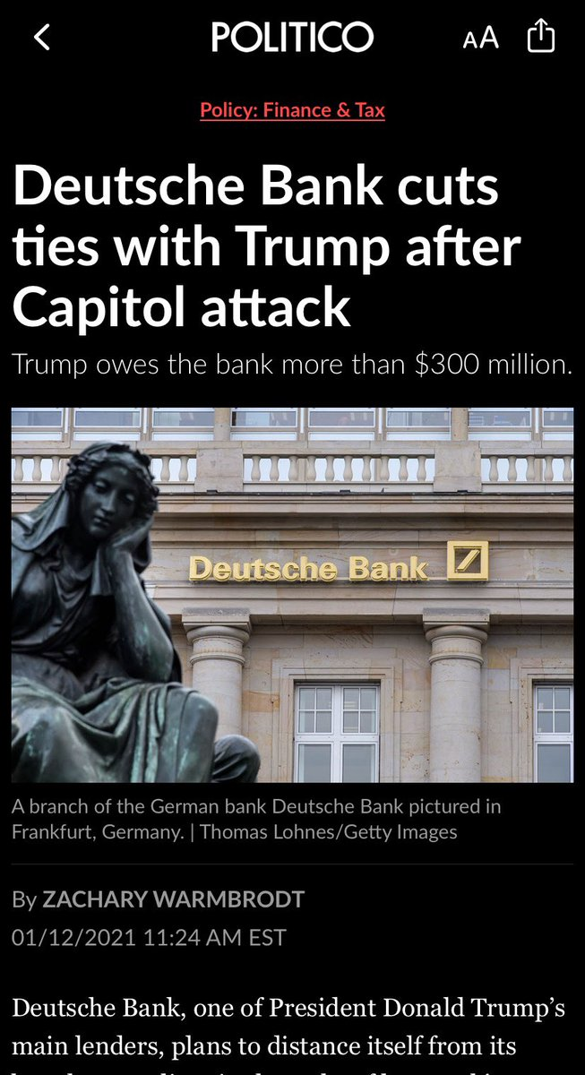 Uh oh! We gotta Deutsche Bank episode up now with some facts for y'all! #nazis #scandal #trump #libor #podcast #housingcrisis #dirtylaundry #russians #epstein #badbanks #ImpeachmentDay