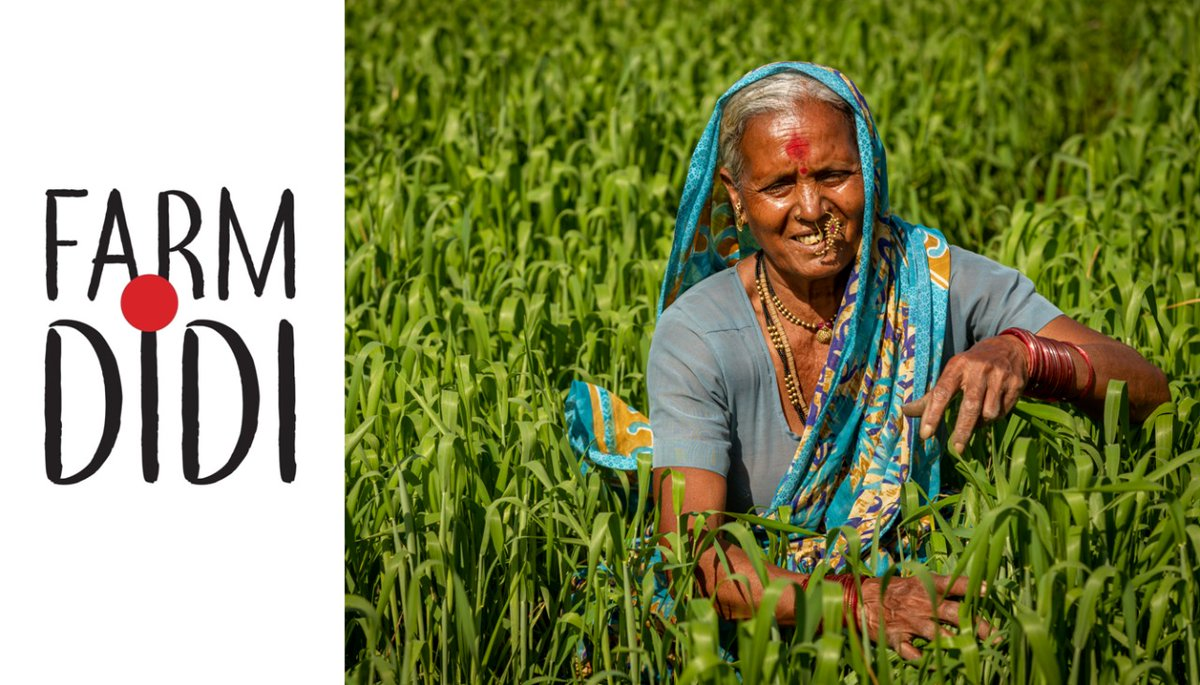 On the auspicious day of #MakarSankranti, we are happy to announce launch of 'Farm Didi' - A venture to celebrate #ruralwomen #farmers & their produce.  Today, Farm Didi aspires & pledges to enable & empower millions of #womenfarmers across India & bring their ambitions to life.