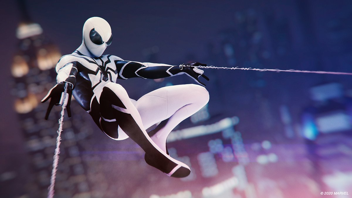 We never get tired of The Future Foundation Suit! #SpiderManPS4