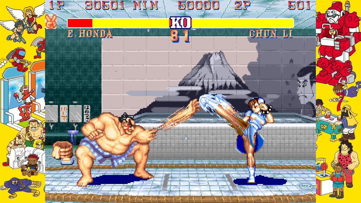 A #ThrowbackThursday image you can hear.  Capcom Arcade Stadium is coming to #NintendoSwitch this February! 🕹️
