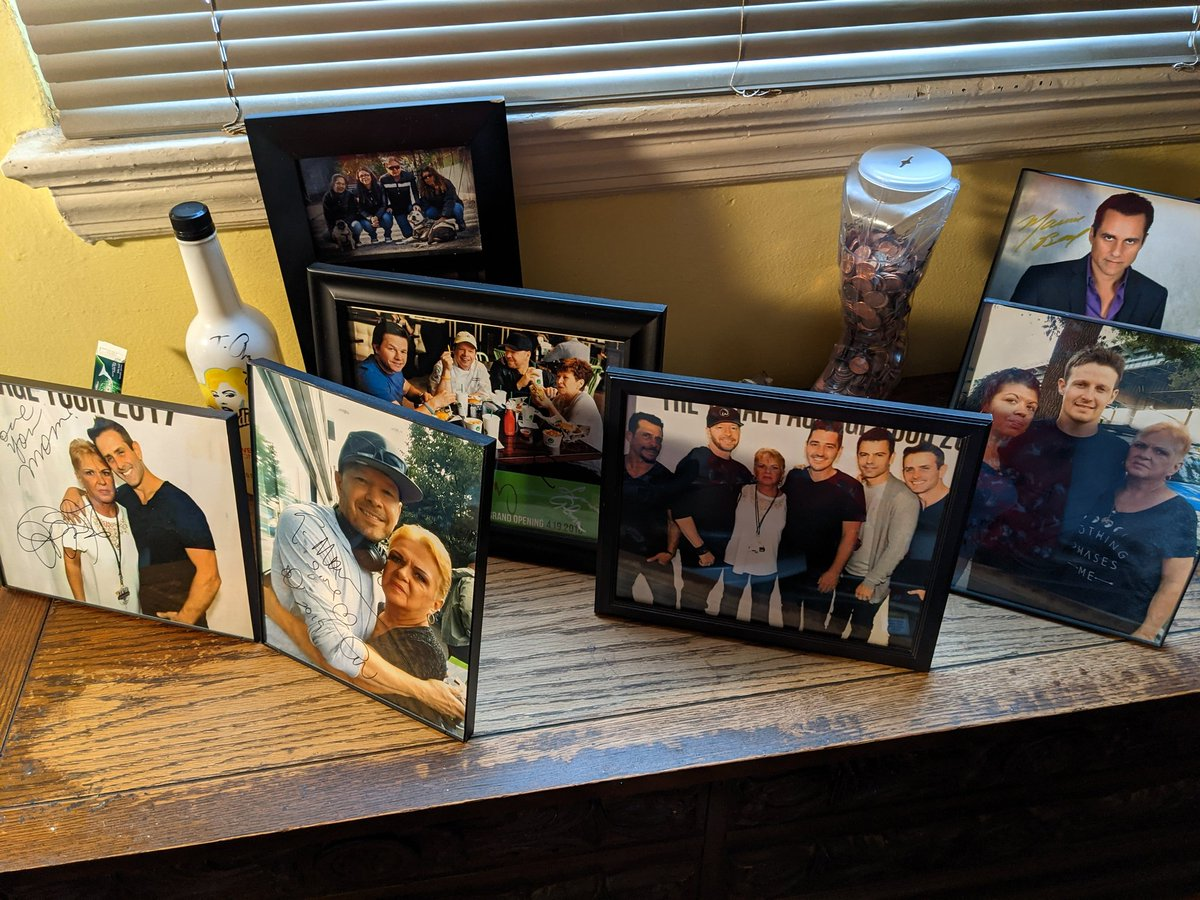 Always a great day when you wake up to this next to your bed. Love, live, love New Kids.