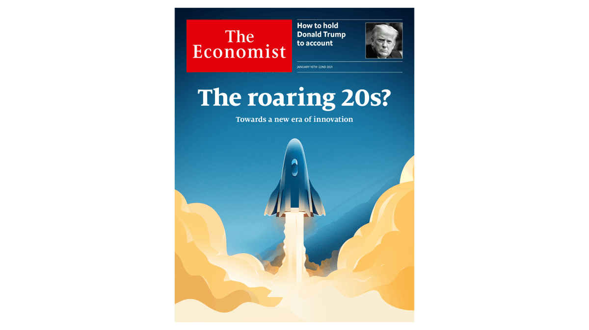 Thanks in part to the pandemic, the world might be about to experience a wave of technological innovation. Our cover outside of Britain and North America this week