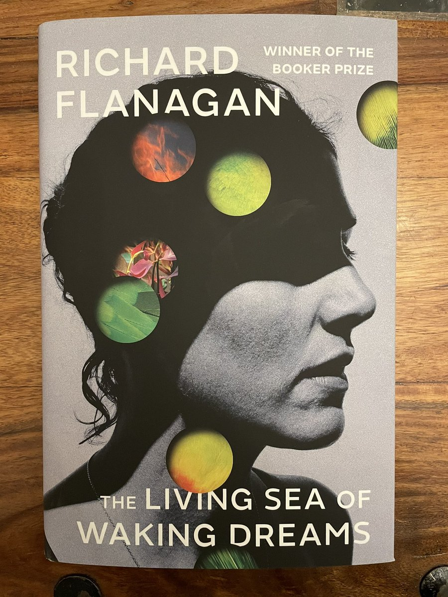 Replying to @Turning_Pages7: Richard Flanagan's latest arrived today!! Very excited!! @ChattoBooks