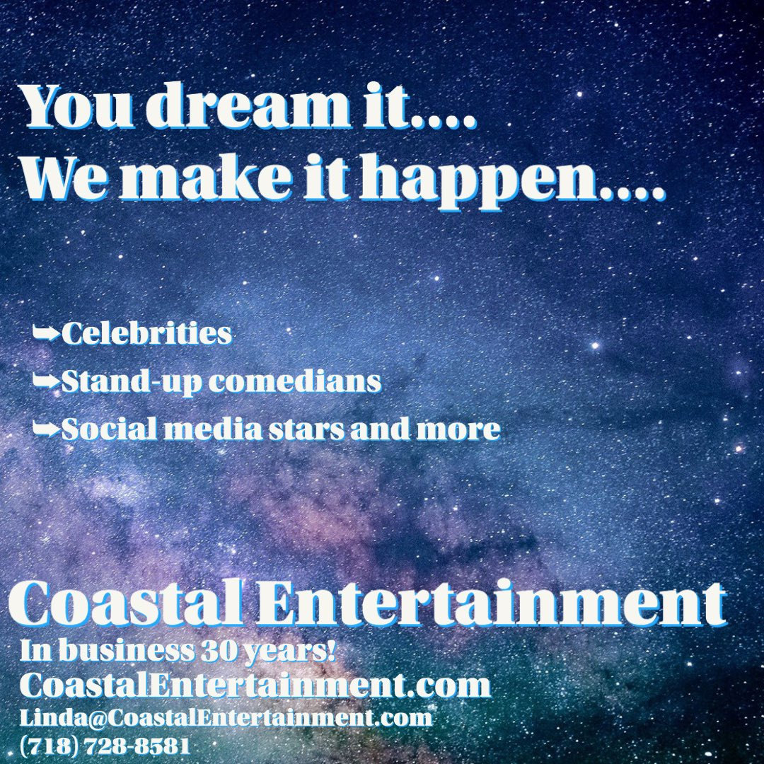 This is us! Entertainment of all kinds #Celebrities #standupcomedy #socialmediamarketing #ThursdayThoughts #thursdaymorning #thursdayvibes - your connection to #events #marketing #specialevent planning and more 👍👍👍👍👍👍👍👍