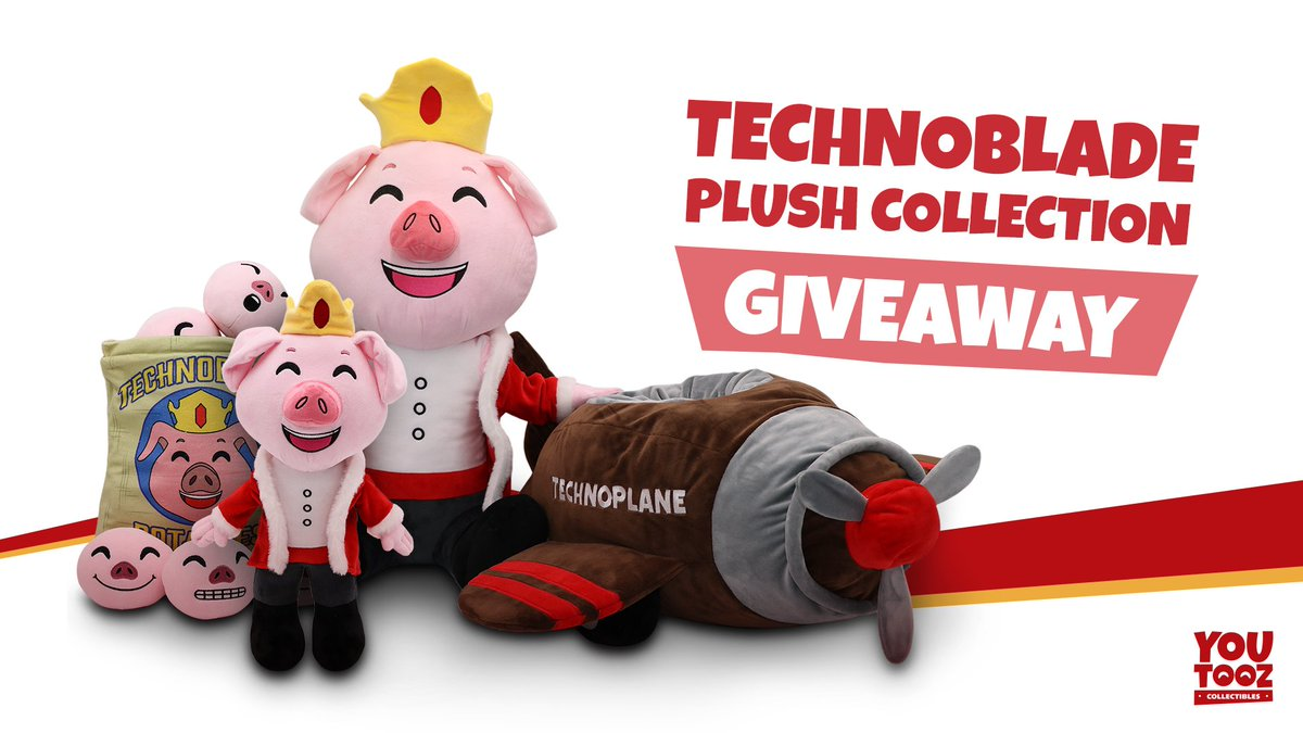 TECHNOPLUSHIE GIVEAWAY! RT + follow @youtooz to win one free (one winner every 1K RTs) The technoplushies go on sale on the 19th at 3 PM EST!