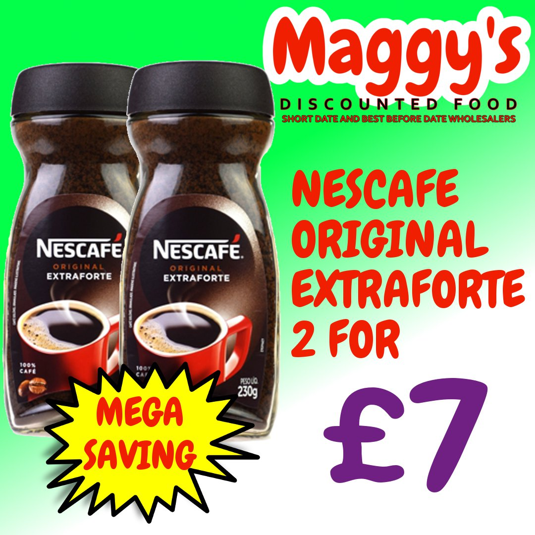Replying to @MaggysDiscount: Shop and Save at Maggy's!  You can order online with Maggy's for home delivery or Click & Collect or see us instore open every day in Crawley    #shortdate #food #drink #essentials #bestbeforedate