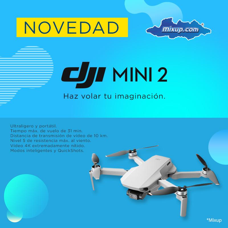 ¡Ya tenemos disponible el nuevo Dron #MavicMini2 de #DJI ! 😱👏  Hay lugares que solo visitarás una vez en la vida.... Llévate el DJI Mini 2 contigo para inmortalizarlos desde una perspectiva única.  Más información: