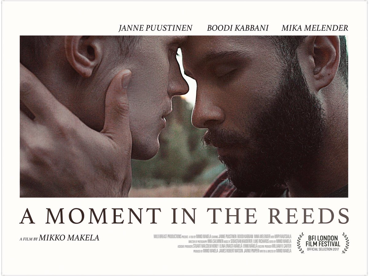 Watched a quiet, lovely little gay film last night 😌  A Moment in the Reeds (2017)   Mikko Makela (dir.) #FilmTwitter