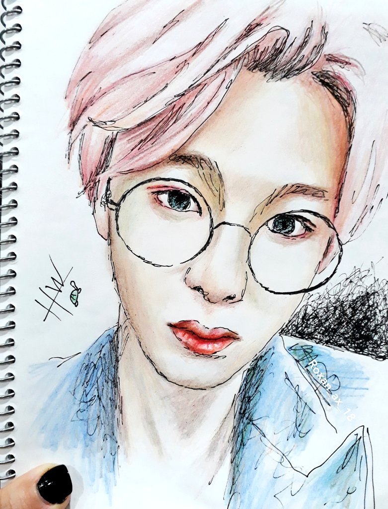To Hyungwon   I don't usually post my sketches here but today I wanted to put beautiful things next to your name  So I started drawing and put the fastest sketch I could draw here!  Happy Birthday Chae Hyungwon   #형원이란_다정함이_내린_날 #HBDtoHYUNGWON  @OfficialMonstaX