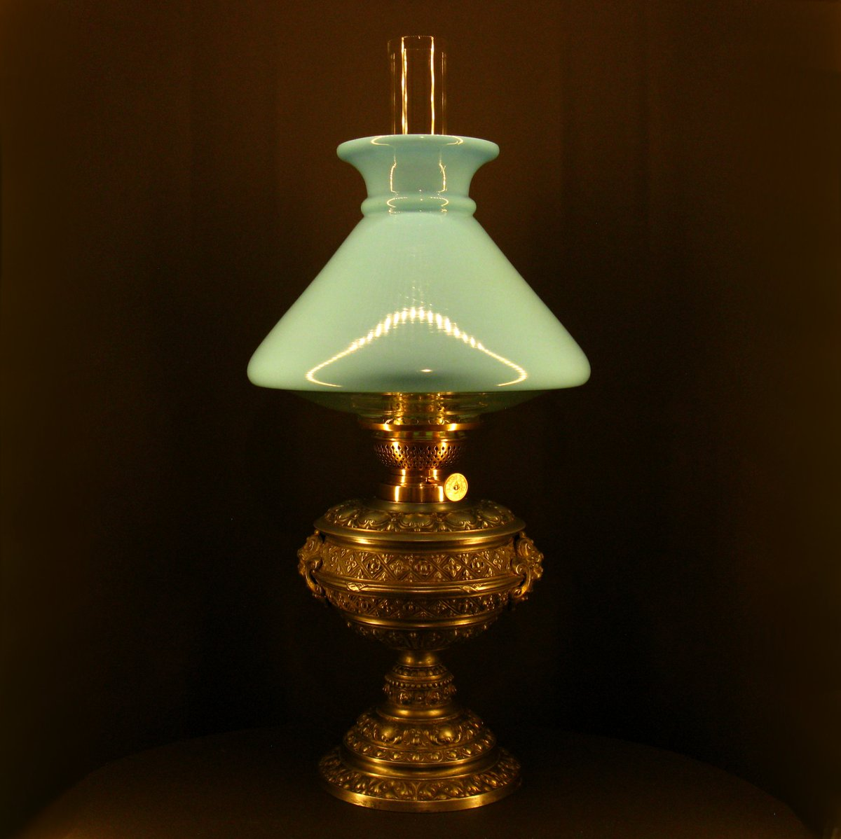 Lampa cu kerosen sub presiune, German style