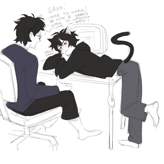 Everyone wants a catboy bf until they realize just how needy they are >.> https://t.co/5WyXhu4Uu3
