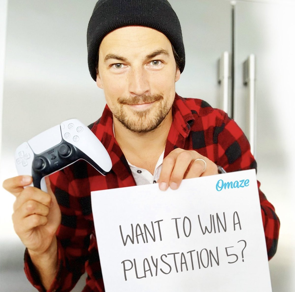 I teamed up with @omaze to give away TWO brand new standard PlayStation 5 consoles, and YOU could win one! Every donation supports the awesome work of My Friend's Place, so enter at the link in my bio or go to  today! #omaze @MFPLA #ps5 #ps5giveaway
