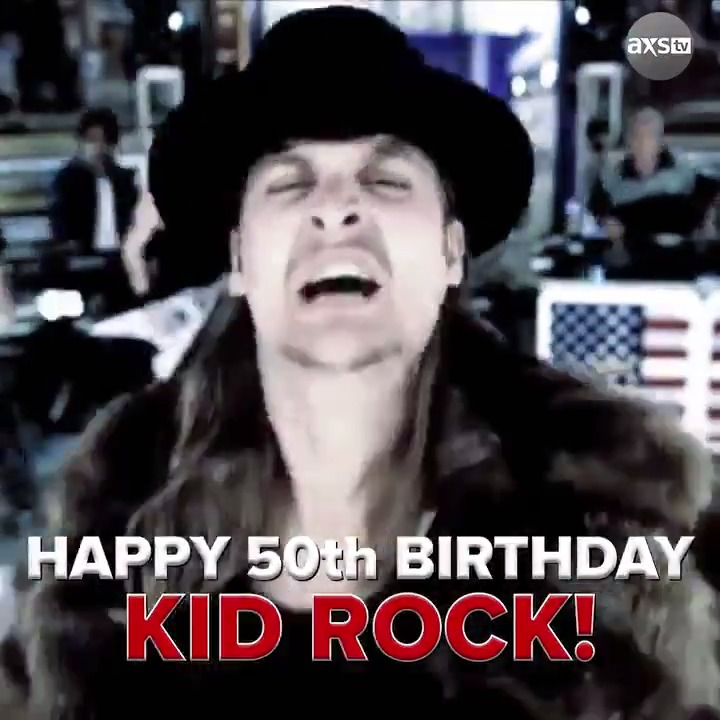 "Happy 50th Birthday @KidRock! ...Or should we say ""Adult Rock""? 🤔   Watch his full #TheBigInterview NOW for FREE:"