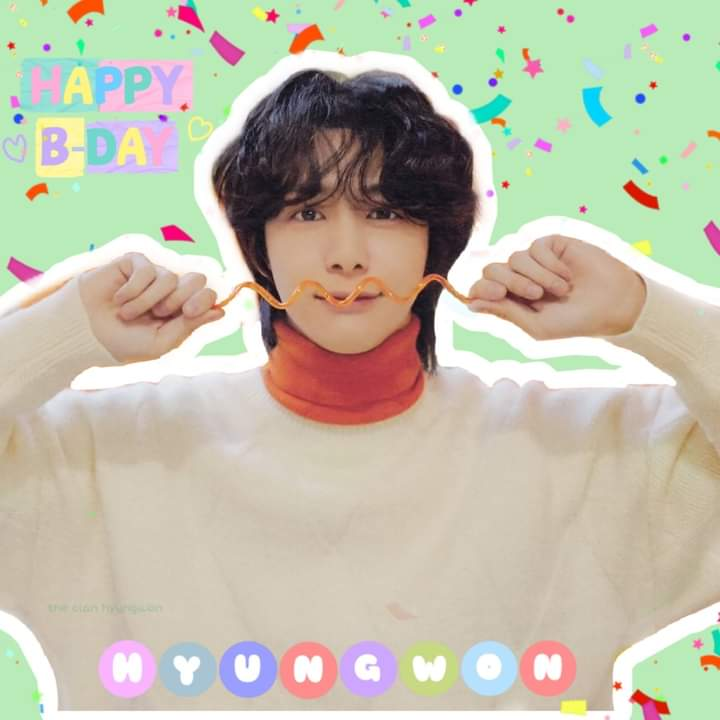 #HBDtoHYUNGWON  #HyungwonweloveyouMONBEBES  #형원이란_다정함이_내린_날 @OfficialMonstaX