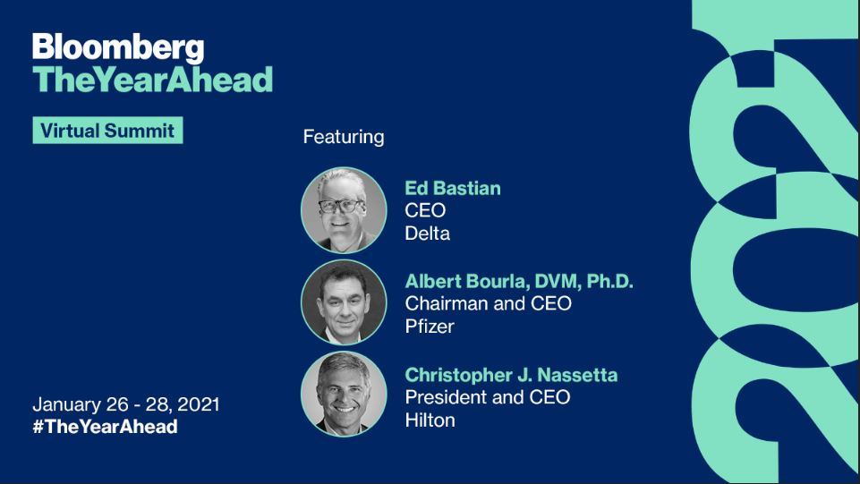 After the incredible disruptions of 2020, this year is shaping up to be a decade-defining year for global business. What can we expect for global business in 2021? Tune into @BloombergLive for #TheYearAhead More details here: