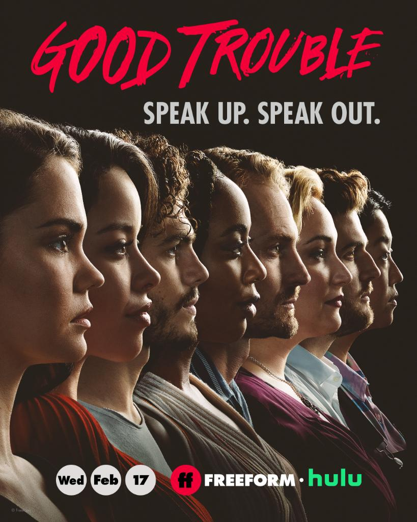 Profiles in courage ______ @GoodTrouble Season 3 premieres February 17 at 10 9c on Freeform, next day on @Hulu