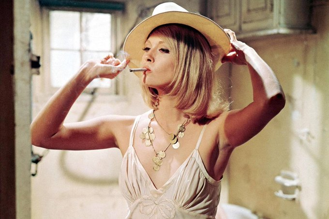 """It\s interesting as one grows older to keep in touch with the cutting edge.\""  Happy 80th Birthday \""Faye Dunaway\"""