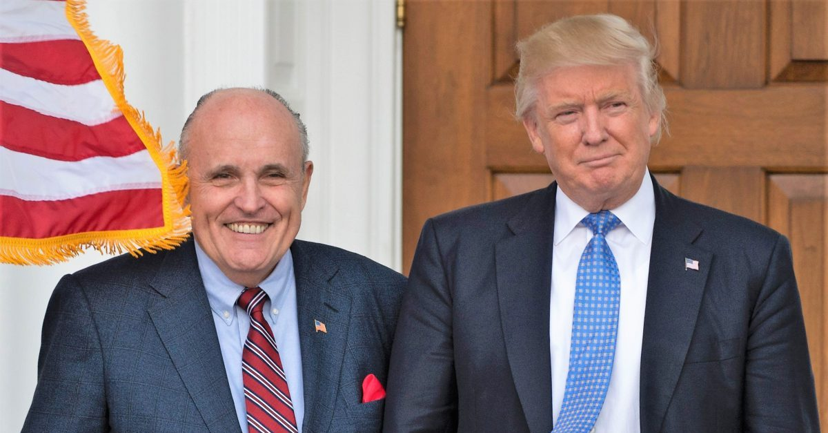 Giuliani Calls 'Game of Thrones' a 'Documentary' About 'Fictitious Medieval England' In Attempt to Duck Blame for Capitol Violence https://t.co/ZwMitZ87Sd https://t.co/AopC8pf0K5