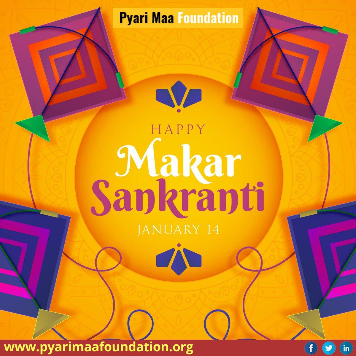 May the Makar Sankranti end all moments of sadness and bring joy and happiness. #PyariMaaFoundation #HappyMakarSankranti #HappyMakarSankranti2021 #MakarSankranti2021 #MakarSakranti #MakarSankranti