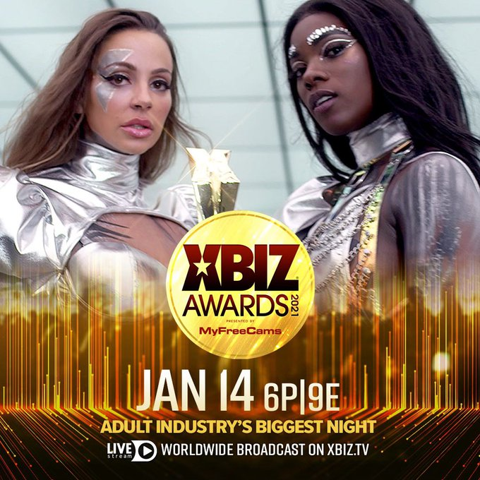 Today is the day! See you all tonight at the @XBIZ Awards! 🏆🏆🏆  👉🏼👉🏼👉🏼👉🏼👉🏼https://t.co/zZwZegJTgV👈🏼👈🏼👈🏼👈🏼👈🏼