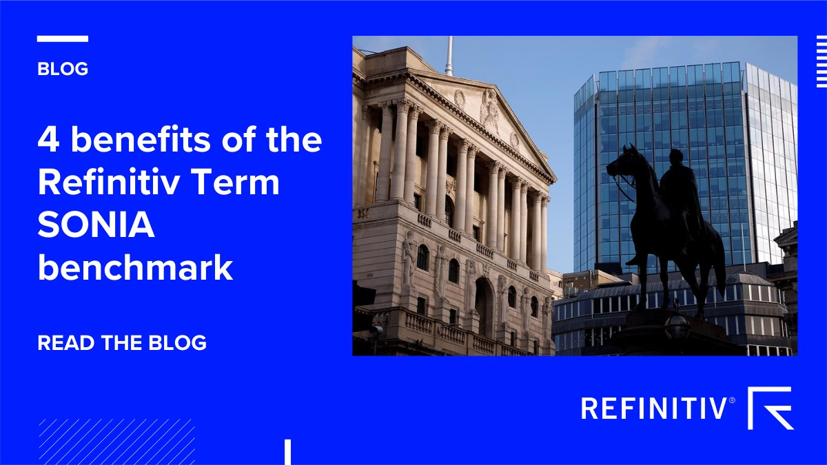 Following the expected cessation of GBP #LIBOR at the end of 2021, how can the @Refinitiv Term #SONIA benchmark help smooth the transition?